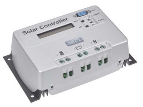 IVT SCD-20A 12V / 24V 20A PWM napelemes töltésvezérlő