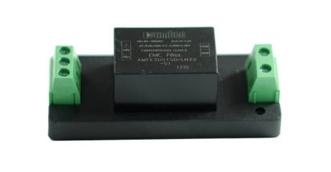 Aimtec AMFE305150-LN22-STD 305VAC 1,5A hálózati zavarszűrő