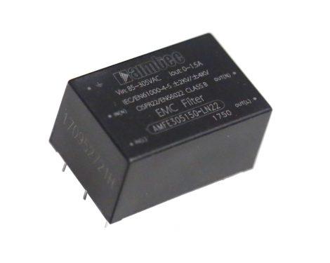 Aimtec AMFE305150-LN22 305VAC 1,5A hálózati zavarszűrő