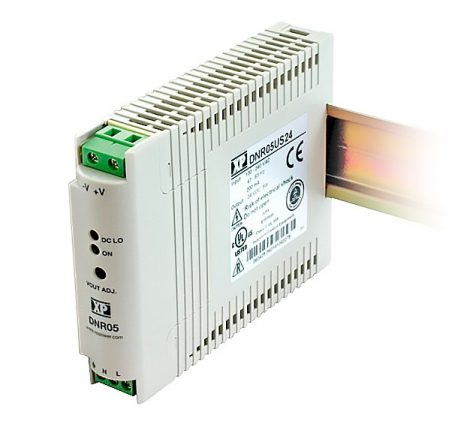 XP Power DNR05US24-S 5W; 24V 0,21A tápegység