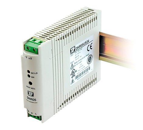 XP Power DNR05US05 5W; 5V 1A tápegység
