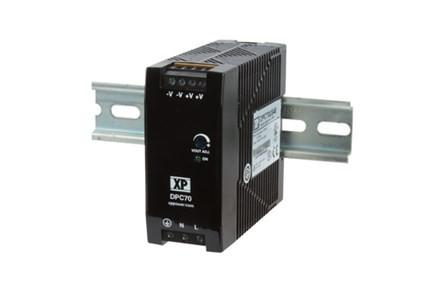 XP Power DPC70US24 72W; 24V 3A tápegység