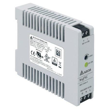 Delta Electronics DRS-5V30W1NZ 5V 3A 15W tápegység