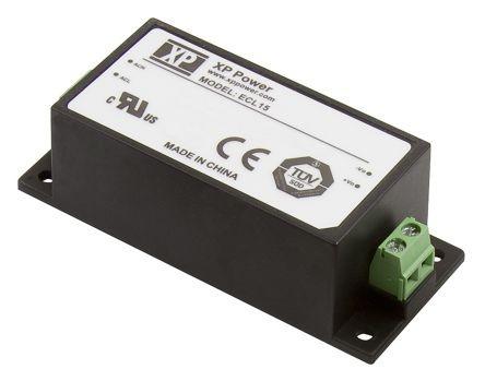 XP Power ECL15UD02-S 15V 0,5A / -15V 0,5A 15W 2 kimenetű tápegység
