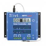 IVT MPPTplus-30A 12V / 24V 30A MPPT napelemes töltésvezérlő