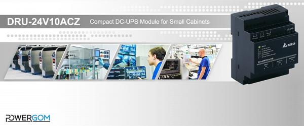 24V 10A kompakt DC-UPS a Delta Electronics kínálatából